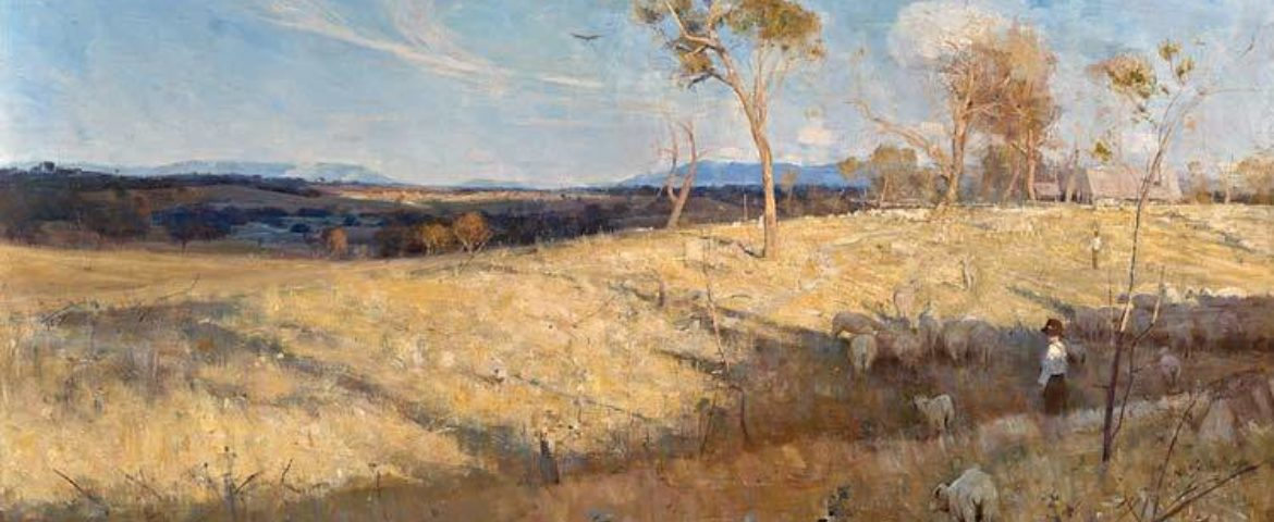 Golden Summer Eaglemont Arthur Streeton